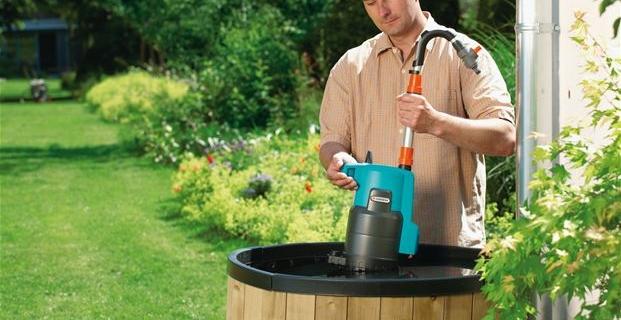 Насос для полива сада и огорода из бочки