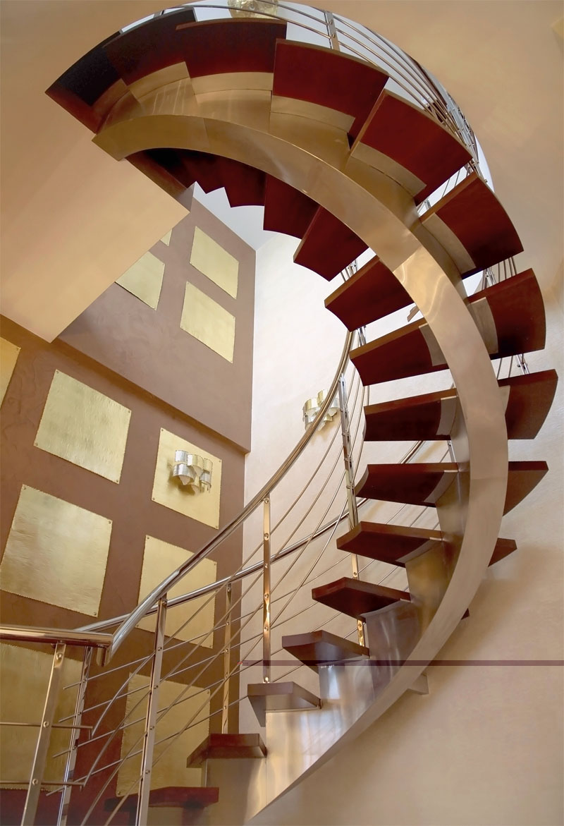 Стационарные лестницы