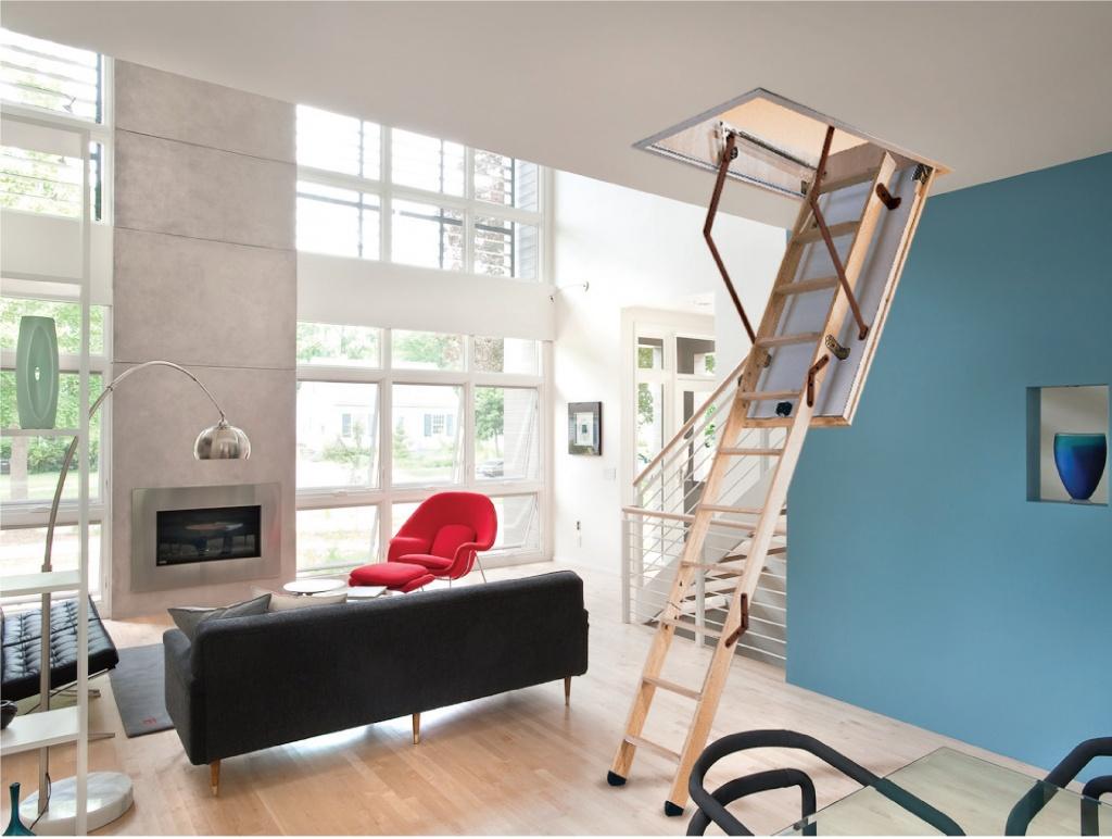 Особенности изготовления раскладной чердачной лестницы