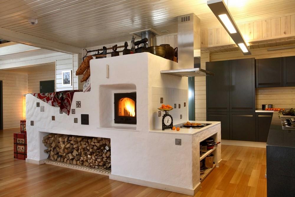 Печь для дома дровяные своими руками проекты