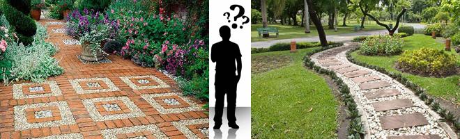 Как определиться с дизайном садовых дорожек?