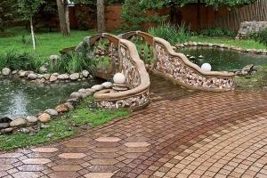 ландшафтный дизайн садовых дорожек