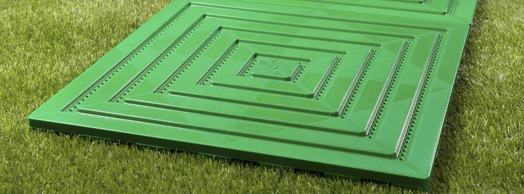 садовые дорожки из пластиковых модулей