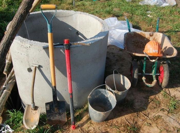 Как самому сделать септик из бетонных колец