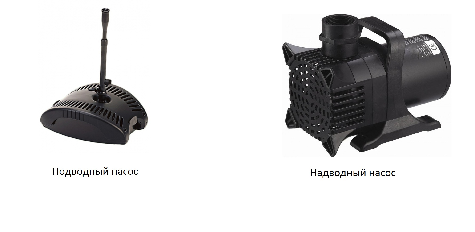выбор насоса для декоративного водоема на дачном участке